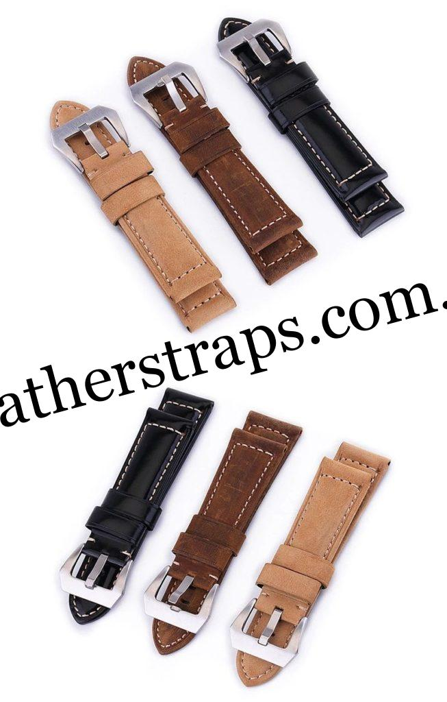 Colours of Leather watch Straps