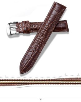 Alligator Pattern Brown Showing Thickness