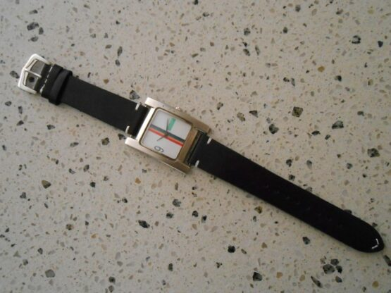 Black Calf Leather with United Colours of Benetton Classic Watch