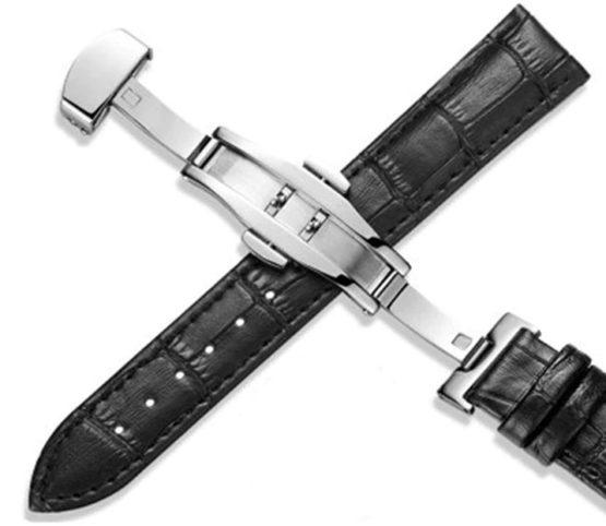 Malany Black Leather