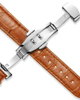 Montville Tan Leather watch strap