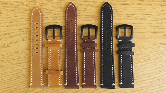 leather quick fit watch strap available colours