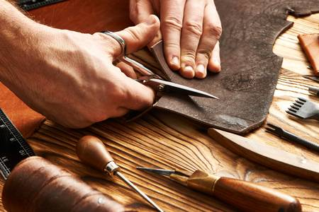 artisan leather worker