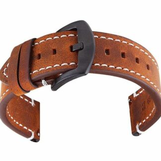 mapleton brown leather band