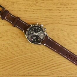 mapleton leather watch strap omega speedmaster moon watch