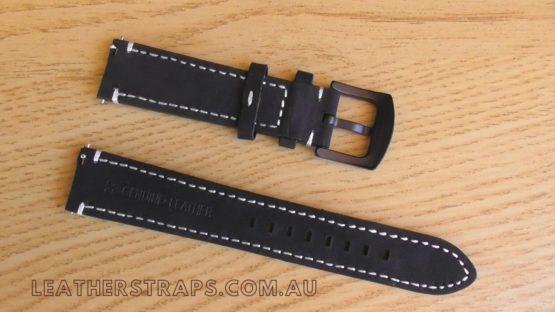 Quick release strap black reverse