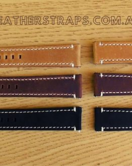 quick release leather strap colours