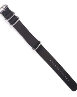 Leather Nato watch strap