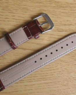 britinya australia brown leather watch strap