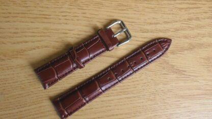 britinya australia brown leather watch strap