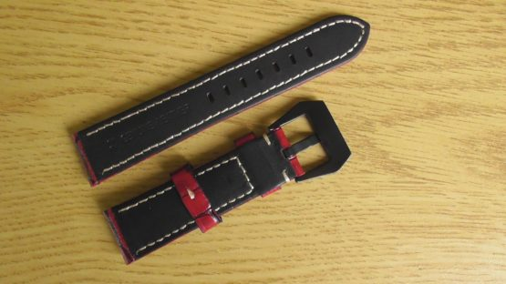 red leather watch strap australia