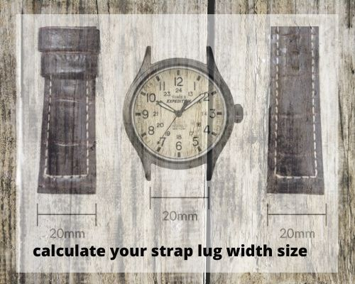 watch lug width size measurement