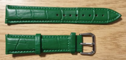 Noosa Australia green leather watch strap