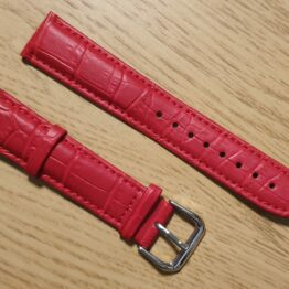noosa australia red leather strap