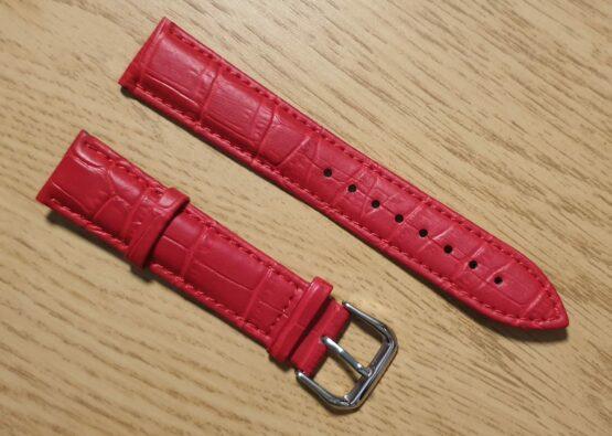noosa australia red leather strap