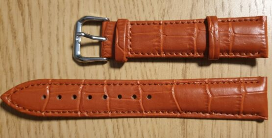 noosa australia tan leather watch strap