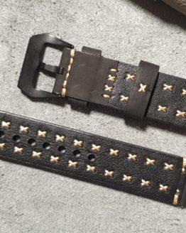 winton australia leather watch band rear