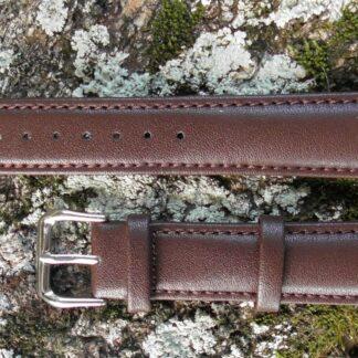 warana australia brown leather watch strap