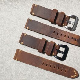handmade leather watch straps australia