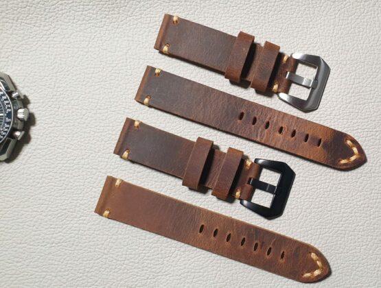 handmade leather watch straps australia