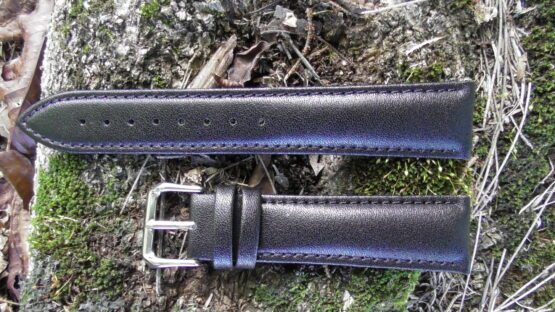 warana australia plain leather watch strap