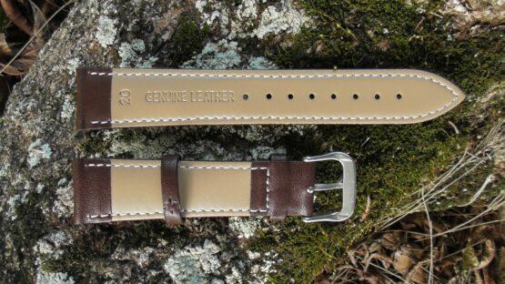 warana brown calf leather strap