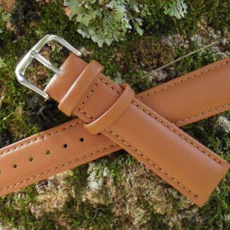 warana australia tan leather watch strap
