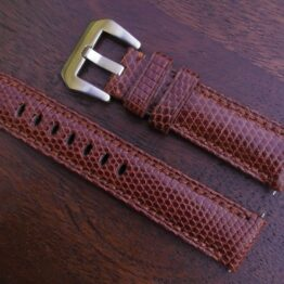 beerwah genuine leather brown watch strap
