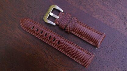beerwah genuine leather brown watch strap