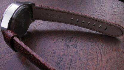 beerwah lizard leather brown watch strap australia