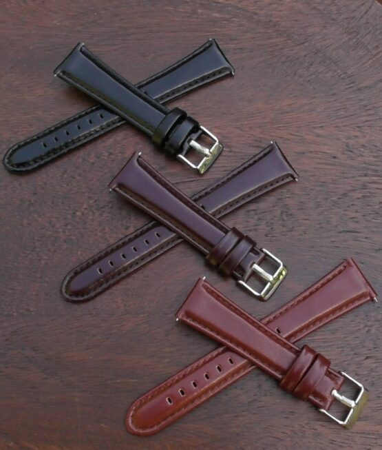 marcoola leather watch band showing all colours