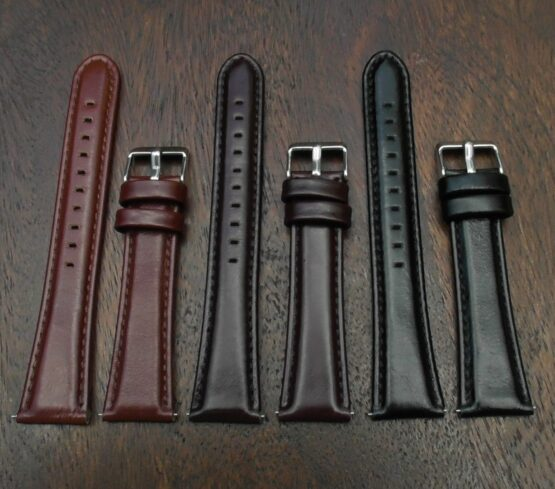 marcoola leather watch straps in a row