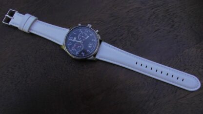 Marcool leather strap on 22mm audi watch