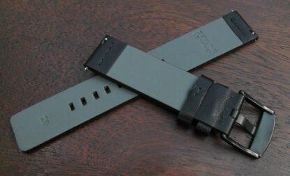 valdora black leather strap rear
