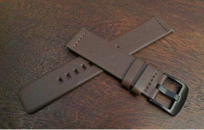 valdora brown leather watch strap