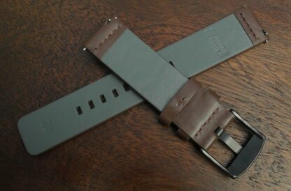 valdora brown leather strap rear