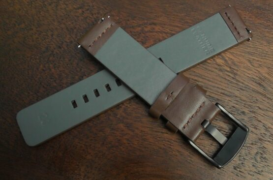valdora brown leather strap rear
