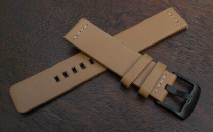 valdora australia tan leather watch strap