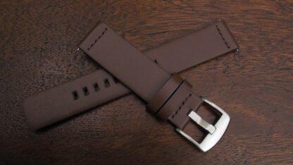 valdora brown leather strap