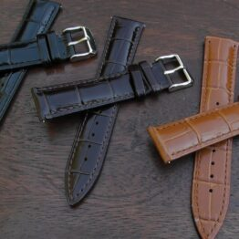kenilworth 20mm lug width leather straps