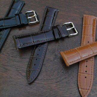 kenilworth 20mm lug width leather straps