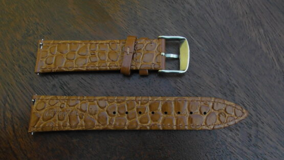quick release leather strap rear