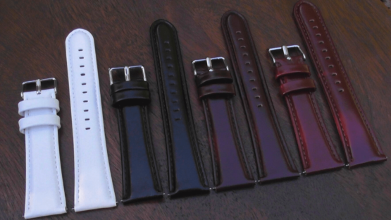 Marcoola leather watch band