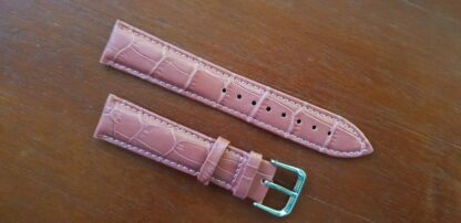 puple leather watch band