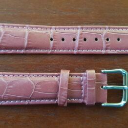 noosa purple leather watch strap