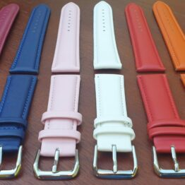 warana leather watch strap colours