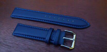 warana blue leather watch band