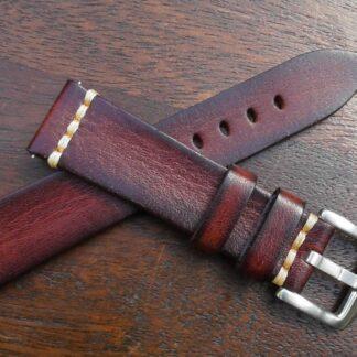 flaxton italian calf leather watch strap