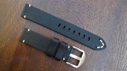 ninderry one piece leather watch strap