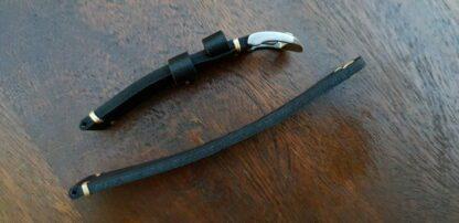 ninderry Australia top grain leather watch band
